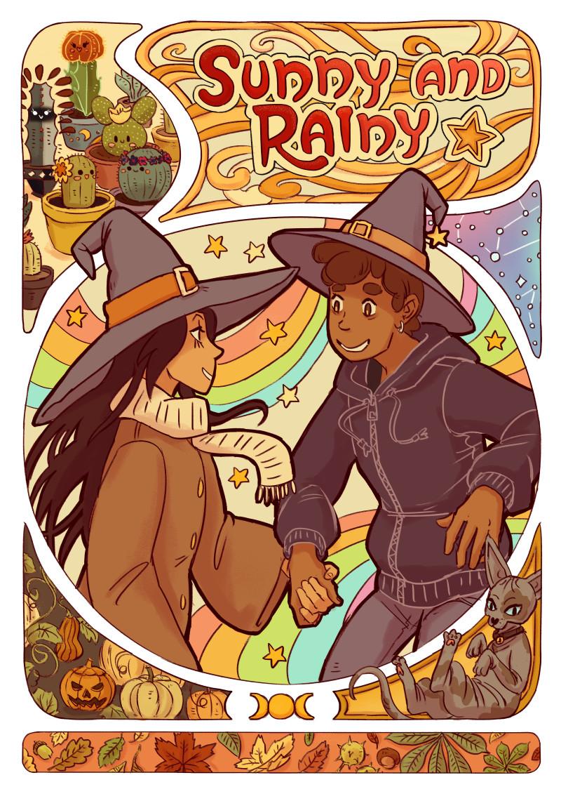 Sunny and Rainy comic cover.